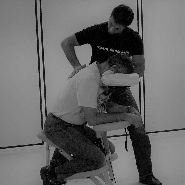 Massages en entreprise