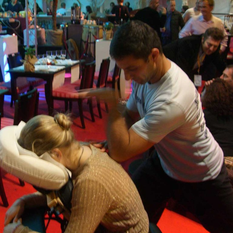 Massage événement